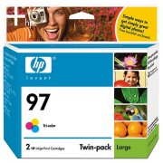 Hewlett Packard HP C9349FN ( HP 97 Twinpack ) Discount Ink Cartridge Twin Pack