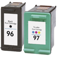 Hewlett Packard HP C9353FN ( HP 96/97 ) Remanufactured Discount Ink Cartridge Combo Pack