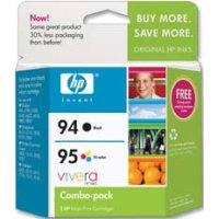 Hewlett Packard HP C9354FN ( HP 94/95 ) Discount Ink Cartridge Combo Pack