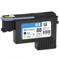 Hewlett Packard HP C9381A ( HP 88 Black/Yellow Printhead ) Discount Ink Printhead Cartridge