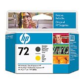 Hewlett Packard HP C9384A ( HP 72 Matte Black/Yellow Printhead ) Discount Ink Cartridge Printhead