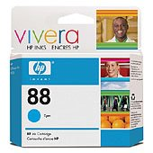 Hewlett Packard HP C9386AN ( HP 88 cyan ) Discount Ink Cartridge