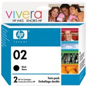 Hewlett Packard HP C9500BN ( HP 02 Twinpack ) Discount Ink Cartridges