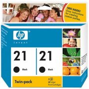 Hewlett Packard HP C9508FN ( HP 21 ) Discount Ink Cartridge Twin Pack