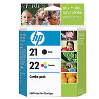 Hewlett Packard HP C9509FN ( HP 21/22 ) Discount Ink Cartridge Combo Pack