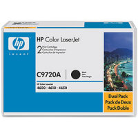 Hewlett Packard HP C9720AD Laser Cartridge Dual Pack