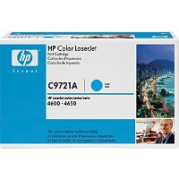 Hewlett Packard HP C9721A Cyan Laser Cartridge