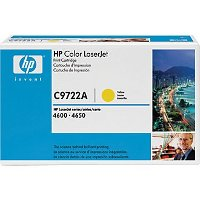 Hewlett Packard HP C9722A Yellow Laser Cartridge