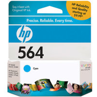 Hewlett Packard HP CB318WN ( HP 564 Cyan ) Discount Ink Cartridge