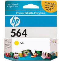 Hewlett Packard HP CB320WN ( HP 564 Yellow ) Discount Ink Cartridge