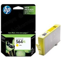 Hewlett Packard HP CB325WN ( HP 564XL Yellow ) Discount Ink Cartridge