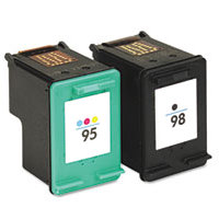 Hewlett Packard HP CB327FN ( HP 95/98 ) Remanufactured Discount Ink Cartridge Combo Pack