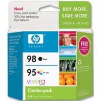 Hewlett Packard HP CB327FN ( HP 95/98 ) Discount Ink Cartridge Combo Pack