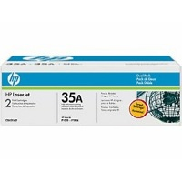Hewlett Packard HP CB435AD ( HP 35A ) Laser Cartridge Dual Pack