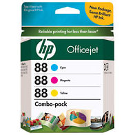 Hewlett Packard HP CC606FN ( HP 88 ) Discount Ink Cartridge Combo Pack
