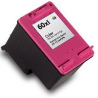 Hewlett Packard HP CC644WN ( HP 60XL Tri-color ) Remanufactured Discount Ink Cartridge
