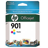 Hewlett Packard HP CC656AN ( HP 901 Tri-color ) Discount Ink Cartridge