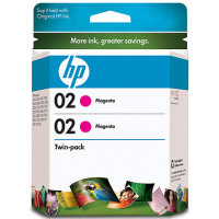 Hewlett Packard HP CD997FN ( HP 02 magenta ) Discount Ink Cartridge Twin Pack
