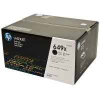 Hewlett Packard HP CE260XD ( HP 649X black ) Laser Cartridge Dual Pack