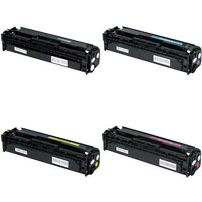Compatible HP 201X Black / 201X Cyan / 201X Yellow / 201X Magenta ( CF400X ) Multicolor Laser Cartridge