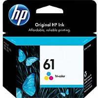 Hewlett Packard HP CH562WN ( HP 61 tri-color ) Discount Ink Cartridge