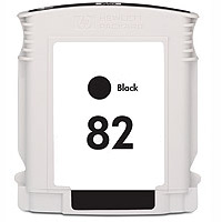Hewlett Packard HP CH565A ( HP 82 Black ) Remanufactured Discount Ink Cartridge