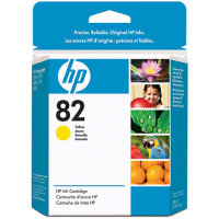 Hewlett Packard HP CH568A ( HP 82 Yellow ) Discount Ink Cartridge