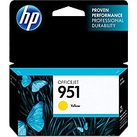 Hewlett Packard HP CN052AN ( HP 951 Yellow ) Discount Ink Cartridge