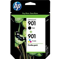 Hewlett Packard HP CN069FN ( HP 901 ) Discount Ink Cartridge Combo Pack