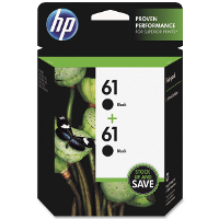 Hewlett Pack CZ073FN ( HP 61 Twin Pack ) Discount Ink Cartridges