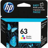 Hewlett Packard HP F6U61AN / HP 63 Tri-Color Discount Ink Cartridge