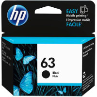 Hewlett Packard HP F6U62AN / HP 63 Black Discount Ink Cartridge