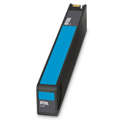 Remanufactured HP HP 972XLC ( HP 972XL Cyan ) Cyan Discount Ink Cartridge