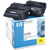 Hewlett Packard HP Q1338D ( HP 38A ) Dual Pack Laser Cartridges