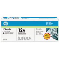 Hewlett Packard HP Q2612AD ( HP 12A ) Laser Cartridge Dual Pack