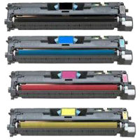 Compatible HP C9700A / C9701A / C9702A / C9703A ( Q3961A ) Multicolor Laser Cartridge
