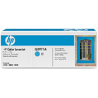Hewlett Packard HP Q3971A Cyan Smart Print Laser Cartridge