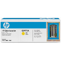 Hewlett Packard HP Q3972A Yellow Smart Print Laser Cartridge