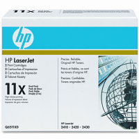 Hewlett Packard HP Q6511XD ( HP 11X ) Laser Cartridges