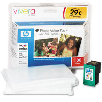 Hewlett Packard HP Q7932AN ( HP 95 Photo Value Pack ) Discount Ink Cartridge Value Pack