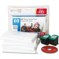 Hewlett Packard HP Q7938AN ( HP 95 Photo Value Pack ) Discount Ink Cartridge Value Pack