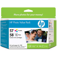 Hewlett Packard HP Q7952AN ( HP 57/58 Photo Value Pack ) Discount Ink Cartridge Value Pack