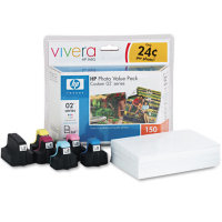 Hewlett Packard HP Q7964AN ( HP 02 Photo Value Pack ) Discount Ink Cartridge Value Pack