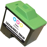 Lexmark 10N0026 ( Lexmark #26 ) Tri-Color Professionally Remanufactured Discount Ink Cartridge