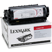 Lexmark 12A0725 Black Non-Prebate Laser Cartridge