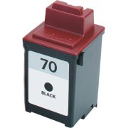 Lexmark 12A1970 ( Lexmark #70 ) Black Professionally Remanufactured Discount Ink Cartridge