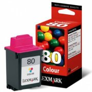 Lexmark 12A1980 ( Lexmark #80 ) Color Discount Ink Cartridge