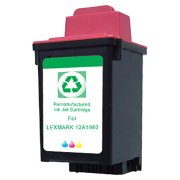 Lexmark 12A1980 ( Lexmark #80 ) Color Professionally Remanufactured Discount Ink Cartridges