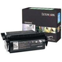 Lexmark 12A5840 Black Prebate Laser Cartridge