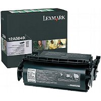 Lexmark 12A5849 Black Prebate Laser Cartridges
